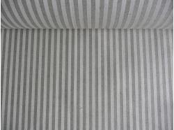 Len / Bawełna  Pasy 1 cm k.37/1