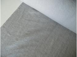 Len odzieżowy / pościelowy k.58/2 Grey gr 150