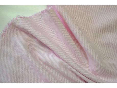 Len / Bawełna Pościelowa / odzież. Paseczek Róż