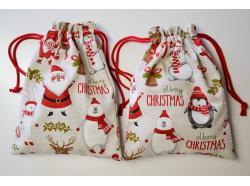 Woreczek Świąteczne Postacie 33 x 25