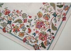 Obrus Gobelinowy 170 x 140 Rajskie Kwiaty