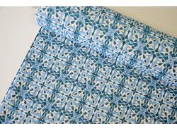 Tkanina Gobelinowa Frisia niebieska