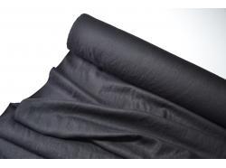 Len dekoracyjny Czarny gr.240g/m2