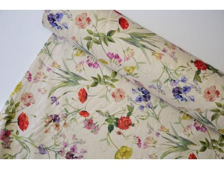 Tkanina dekoracyjna Wiosenny ogród