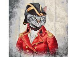 Panel Gobelinowy Napoleon Kot