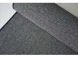 Wełna odzieżowa czarno/biała prążek