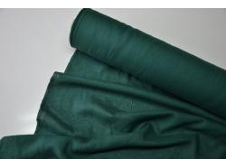 Len odzieżowy /dekor DARK Green k.58/17