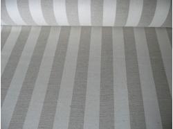 Tkanina Len / Bawełna  Pasy 5 cm k.37/3