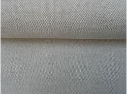 Tkanina Len / Bawełna  Jasny Beż k.60