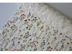 Len odzieżowy / dekor. Vintage Flora