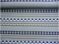 Tkanina Gobelinowa  Maroko niebieski k.106/18