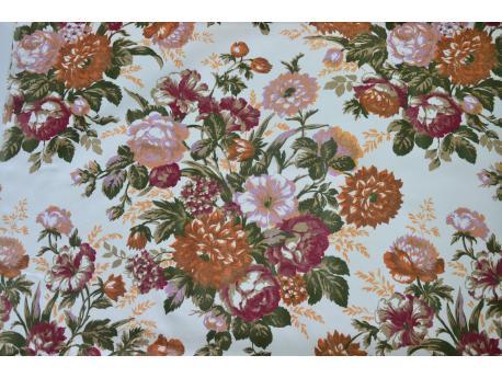 Bawełna dekoracyjna  Bukiety k.102